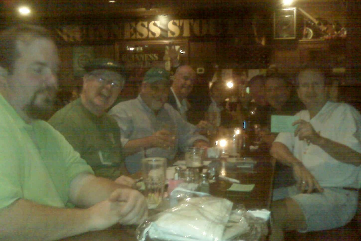 Pat Knightly, Paul M, Tom Murphy, Hugh M, Bill M, Jim W, Patrick S, Matt C