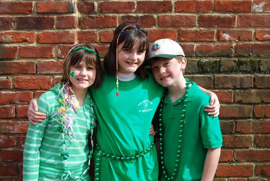 Emily, Claire & Nicholas At the Irish Festival