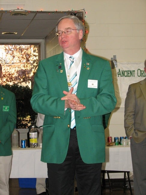 AOH State President, Chuck Curran