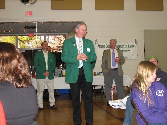 AOH State President Chuck Curran
