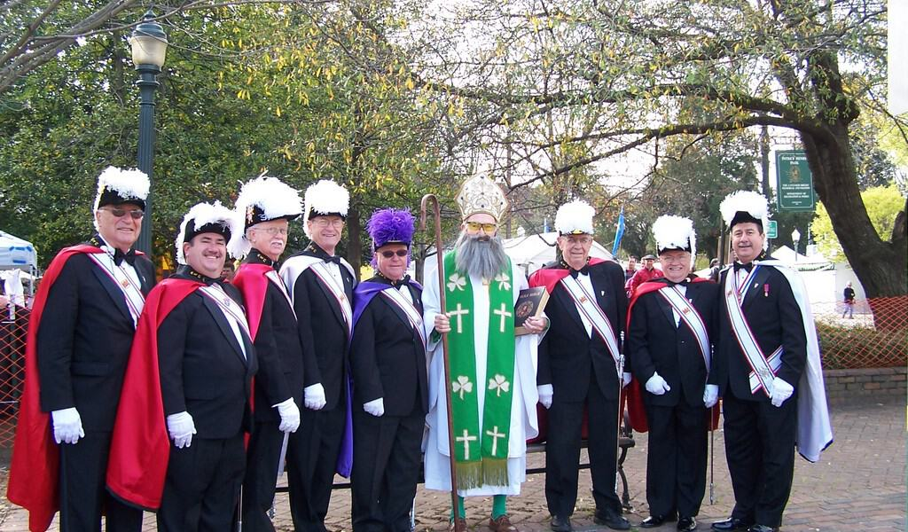 St. Patrick and the 4th Degree Honor Guard