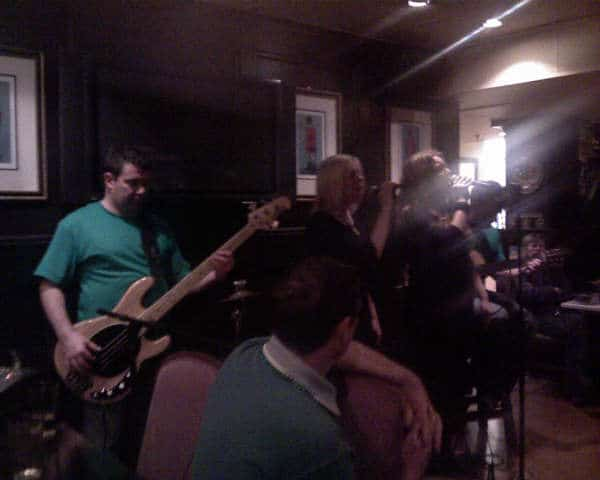 Suas jamming at Rosie's